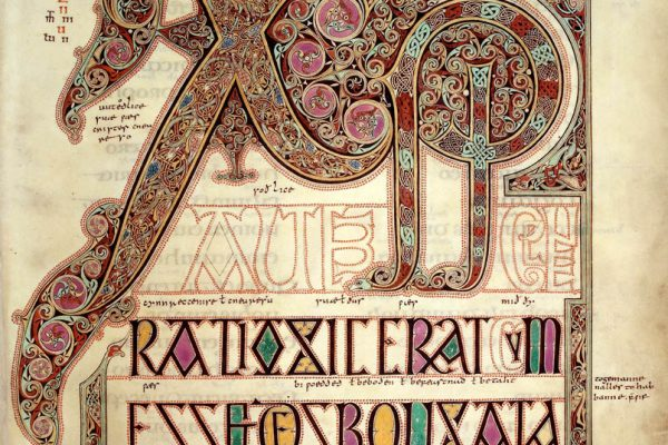 Lindisfarne Folio 29 - Saint Matthieu