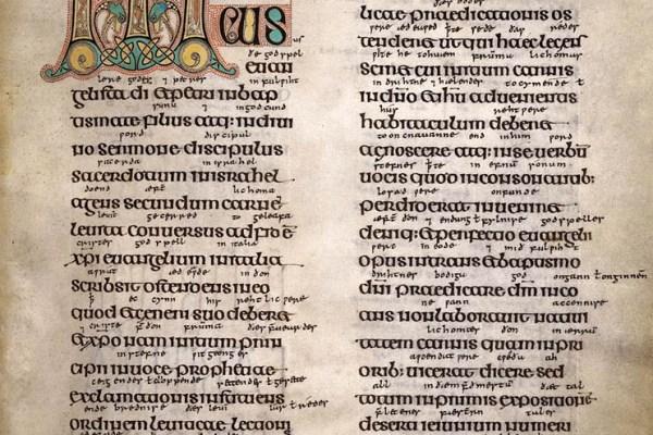 Lindisfarne Folio 90 - Saint Marc