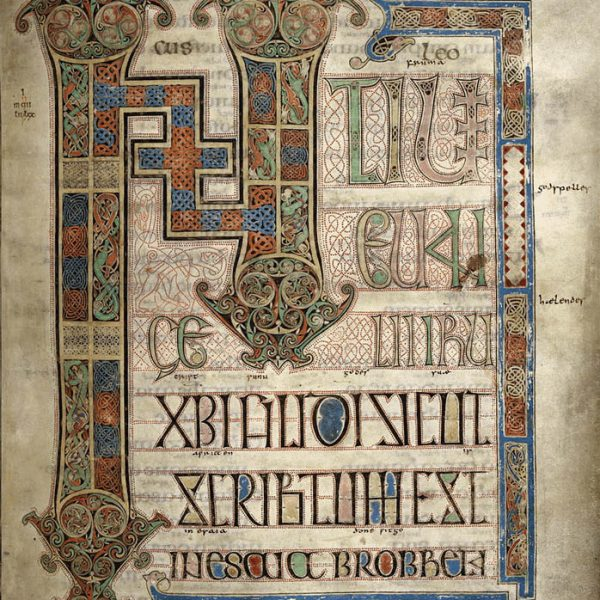 Lindisfarne Folio 95 - Saint Marc