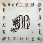 Abécédaire enluminé & lettres cadelées
