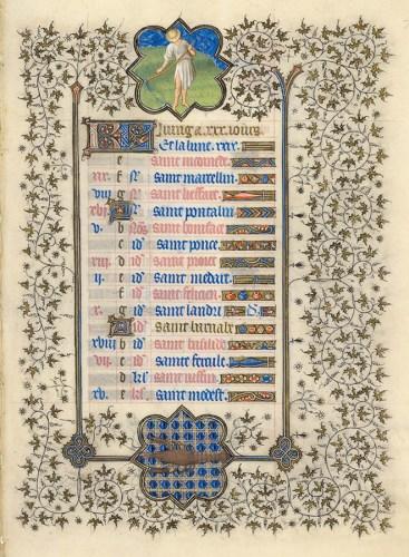 Belles heures du Duc de Berry - Folio 7r