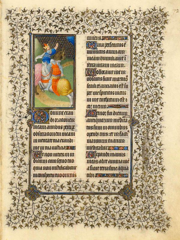 Psaume 143 - Psaumes pénitentiels
