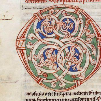Bible d'Arnstein - Folio 67v - Initiale O