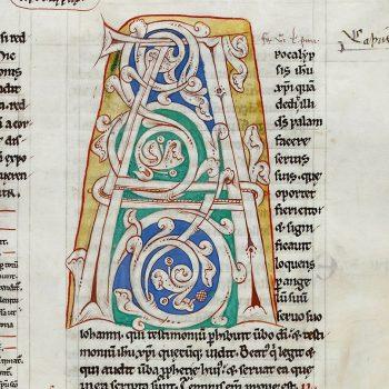 Bible d'Arnstein - Folio 236 - Initiale A