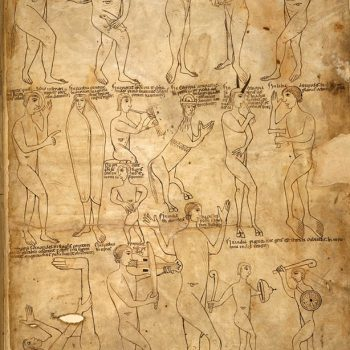 Bible d'Arnstein - Folio 243 - Diverses races monstrueuses