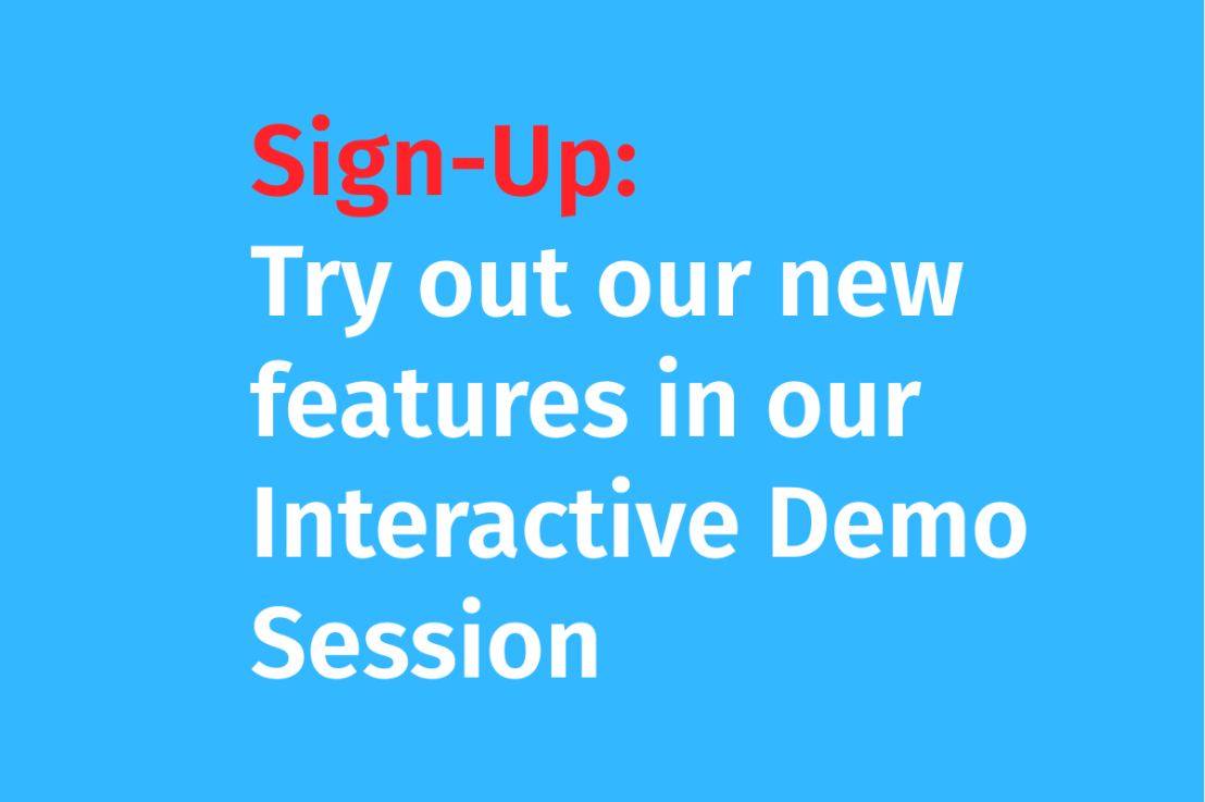 Enmacc is hosting interactive demo sessions to try out our new features