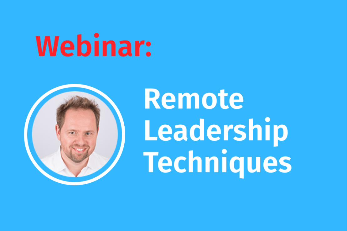 """Live Webinar: High performing Teams effektiv führen"""