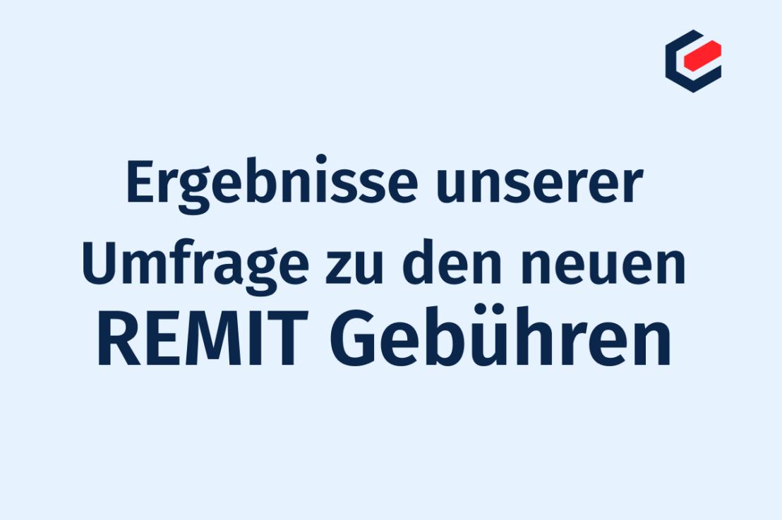 Ergebnisse zur REMIT-Umfrage