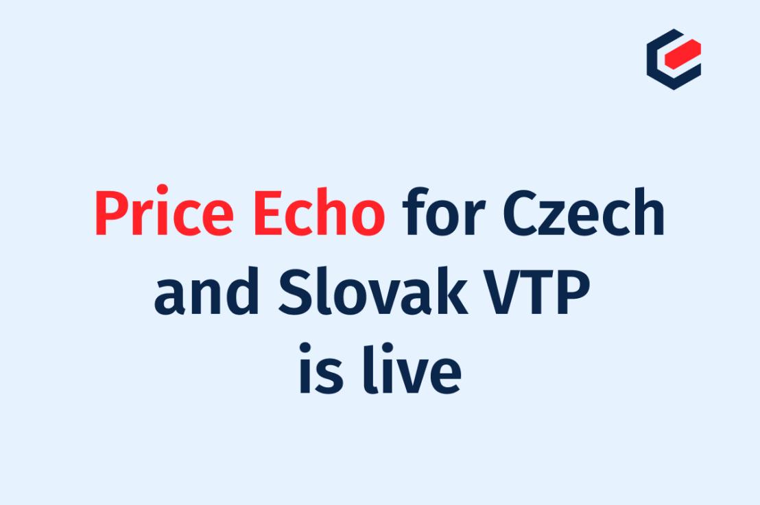 enmacc Price Echo now includes Czech and Slovak VTP!