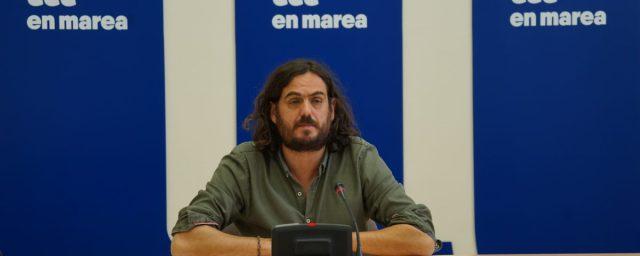 O vicevoceiro de En Marea acude ao TSXG ante a continua vulneración dos seus dereitos como deputado por parte da Xunta de Galicia