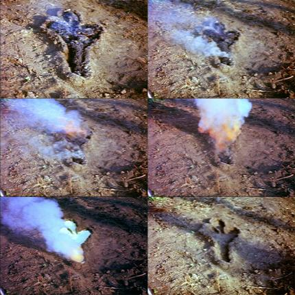 Untitled (Gun Powder Work) 1980