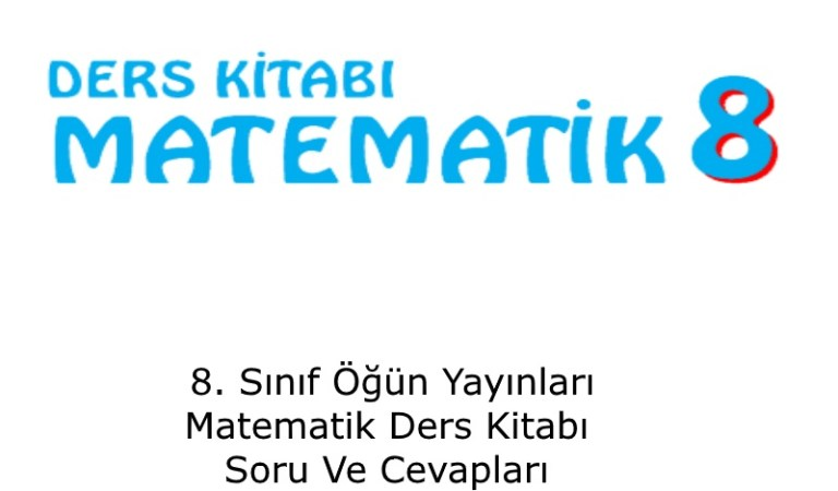 8. Sınıf Öğün Yayınları Matematik Ders KitabıSoru Ve CevaplarıSayfa80