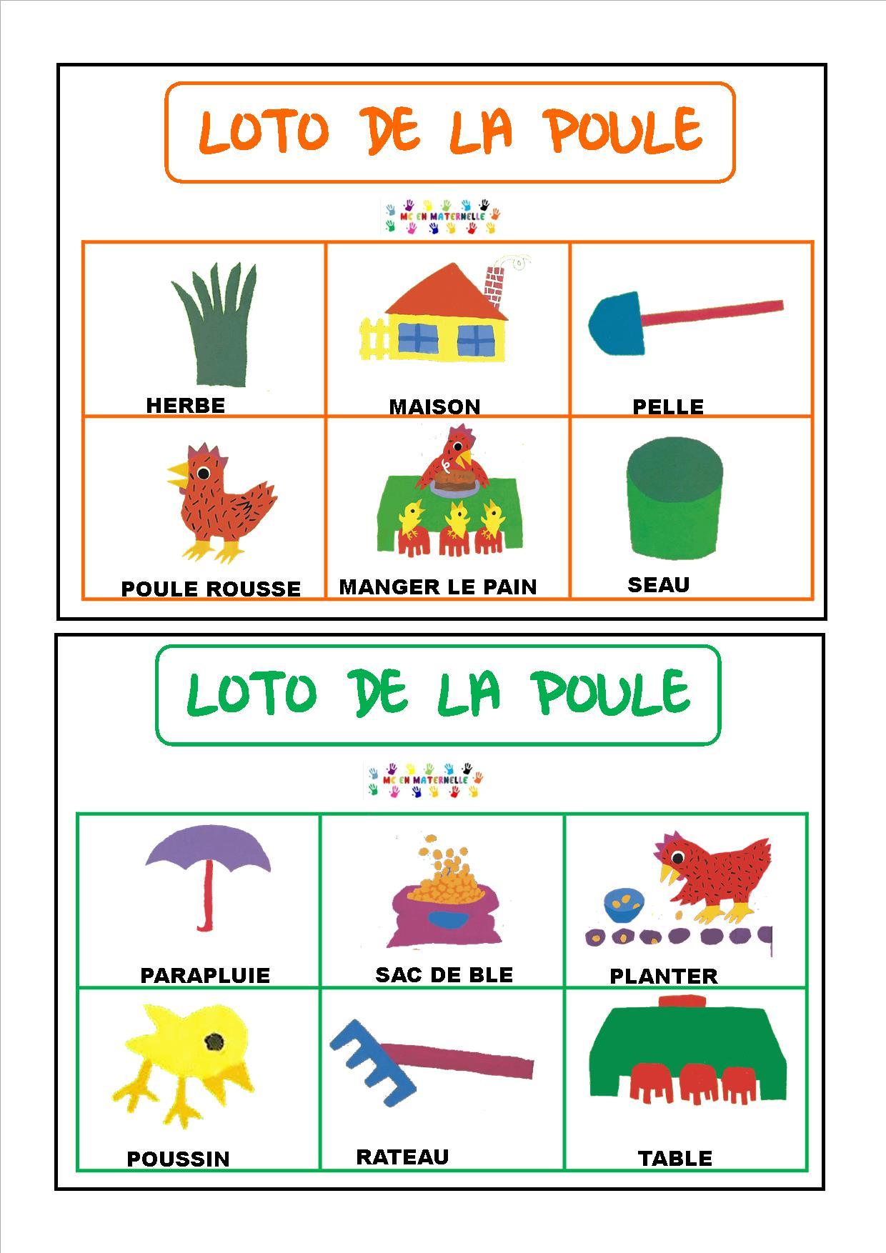 La Petite Poule Rousse Maternelle : petite, poule, rousse, maternelle, Petite, Poule, Rousse, Maternelle