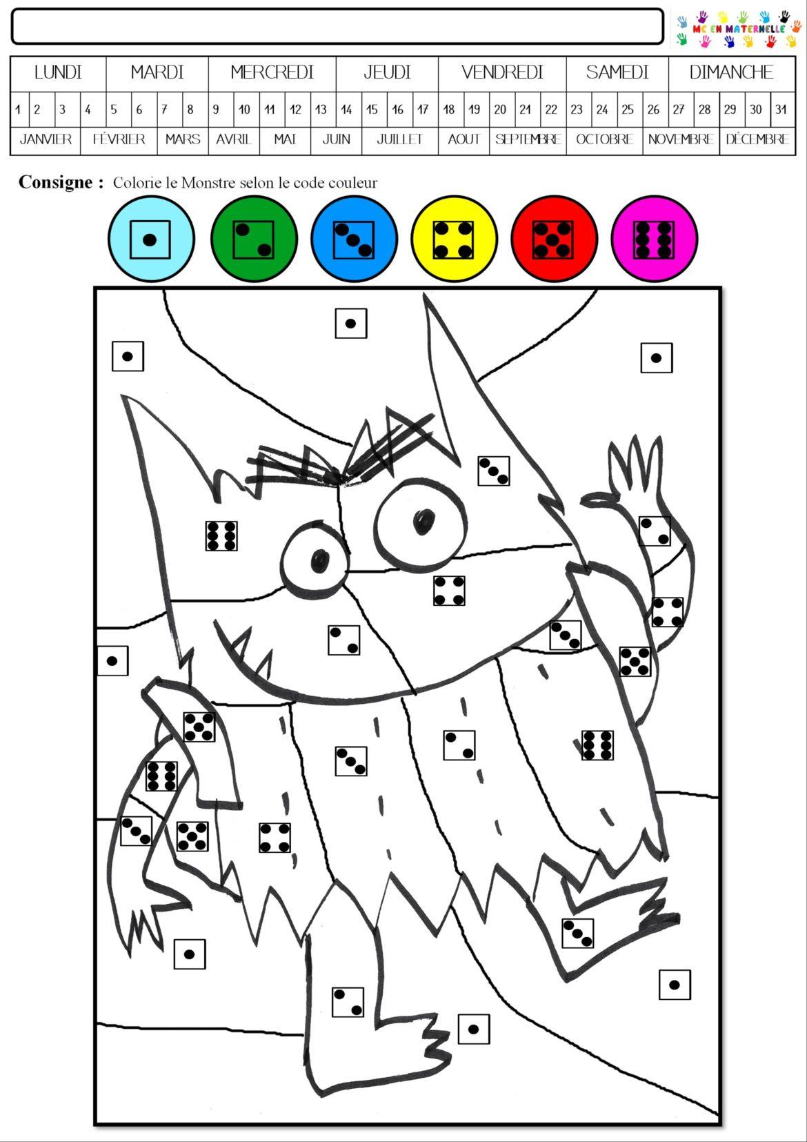 Coloriage Magique Grande Section Maternelle : coloriage, magique, grande, section, maternelle, Coloriage, Magique, Maternelle