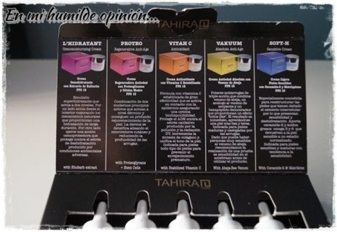 Pack de bienvenida Tahirah Shop, cosmética sin parabenos.