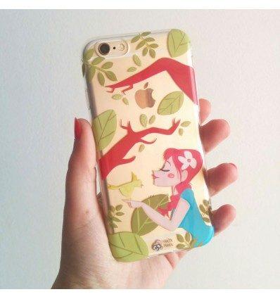 Funda iPhone 6-6S Kiss Pedrita Parker