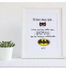 Lámina Infantil Batman Pedrita Parker
