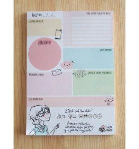 Planificador diario - Combinado Pedrita Parker