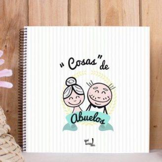 Álbum / Diario DIY Cosas de abuelos Qué Way