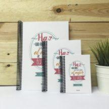 Cuaderno personalizable Haz que todos los días sean el mejor de tu vida Qué Way