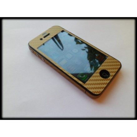 Skin adhesivo fibra de carbono iPhone 4