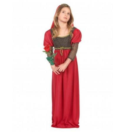 Disfraz de Julieta niña