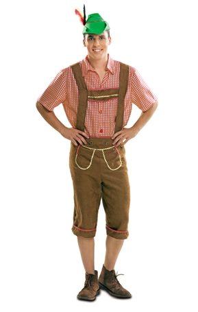 Disfraz de Tirolés tradicional para hombre
