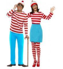 Disfraz pareja Donde está Wally.