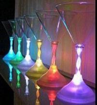Vaso luminoso de cóctel