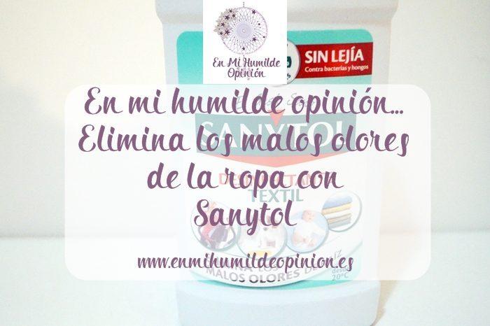 Elimina los malos olores de la ropa con Sanytol
