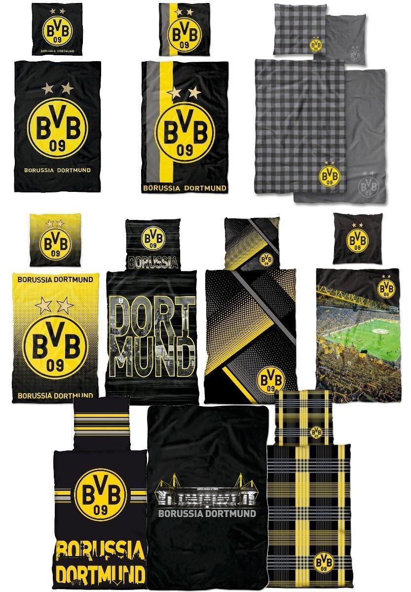 Bvb Bettwäsche 135x200 Borussia Dortmund Bvb 09 Bettwäsche 100