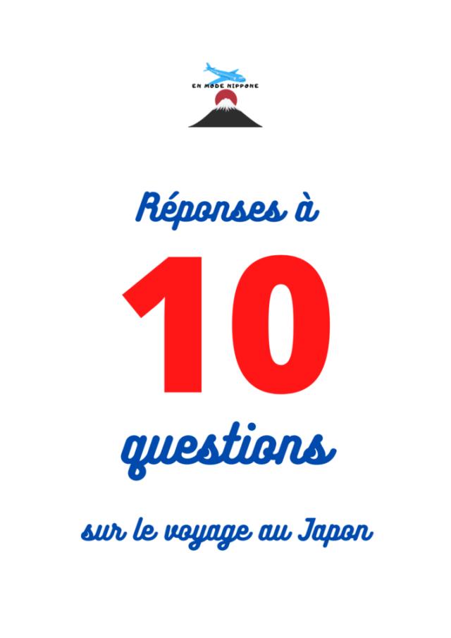 réponses à 10 questions