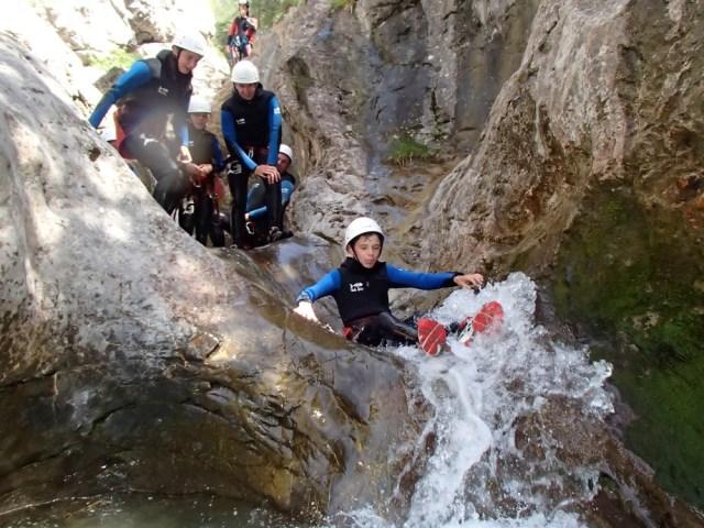 Canyoning à Ancelle avec En Montagne©en montagne