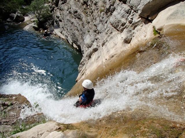 Canyon Rabou Gap Veynes Mure