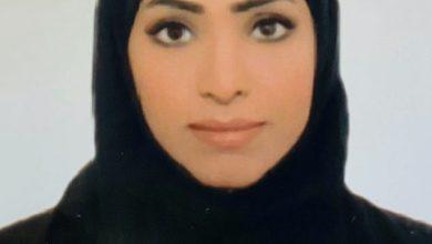 """صورة طالبة في جامعة عجمان تحصل على لقب """"سفير الوقاية المجتمعية"""""""