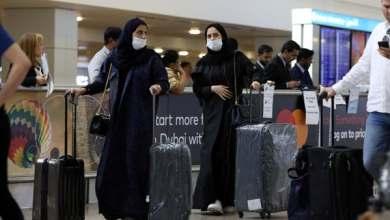 صورة استئناف رحلات الطيران بين دبي والمدن السعودية