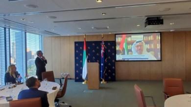 صورة وكالة أنباء الإمارات – إطلاق مجلس الأعمال الإماراتي الأسترالي لتعزيز فرص الشراكة بين البلدين