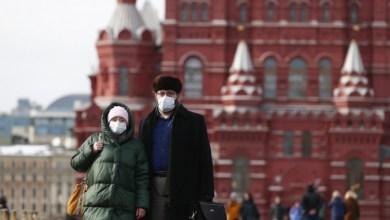 """صورة وكالة أنباء الإمارات – روسيا تسجل أكثر من 21 ألف إصابة جديدة بـ """"كورونا"""""""