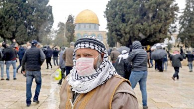 صورة وكالة أنباء الإمارات – 10 وفيات و 497 إصابة جديدة بكورونا في فلسطين