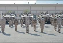 صورة وكالة أنباء الإمارات – قادة وكبار ضباط وزاره الدفاع يهنئون الوحدات بعيد الفطر السعيد