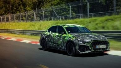 صورة أودي RS3 2022 تصبح أسرع سيارة من فئتها على نوربرجرنج