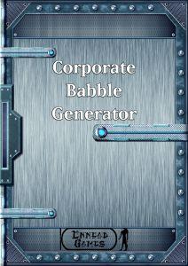 Corp babble