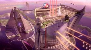 Futuristic City City Buildings  - ParallelVision / Pixabay