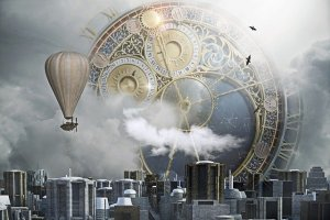 Steampunk City Clock Clock City  - darksouls1 / Pixabay