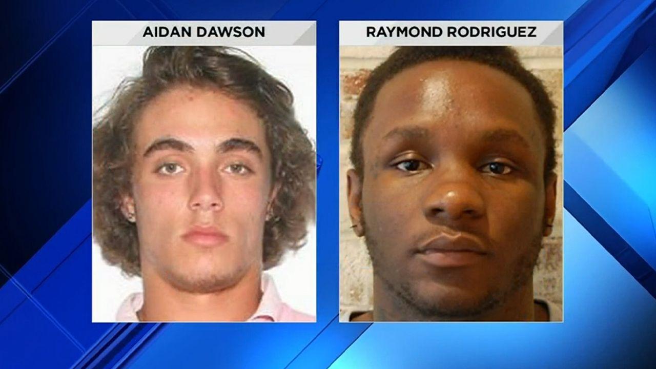 Aidan Dawson and Raymond Rodriguez were murdered in 2017.