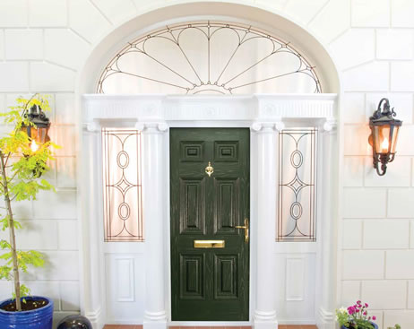 Door and side windows