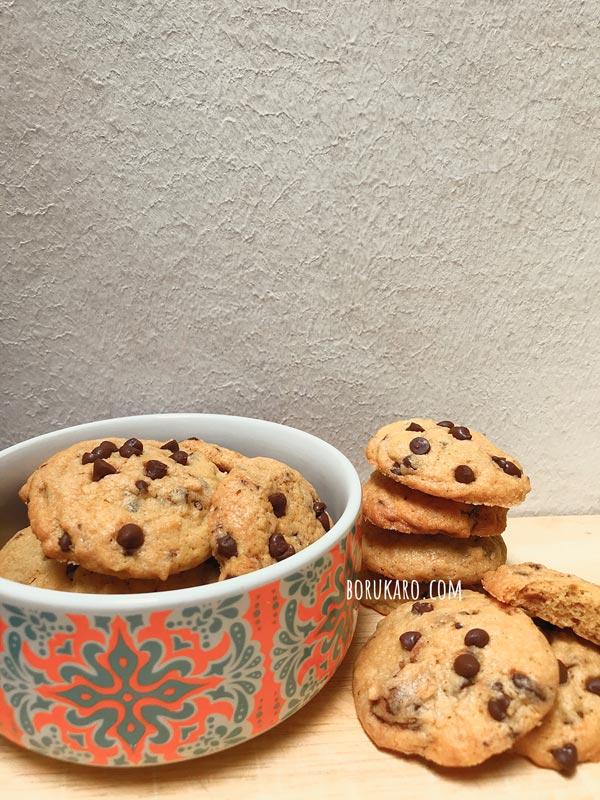 Resep Choco Chip : resep, choco, Resep, Kering, Coklat, Cookies, Renyah, Borukaro.com