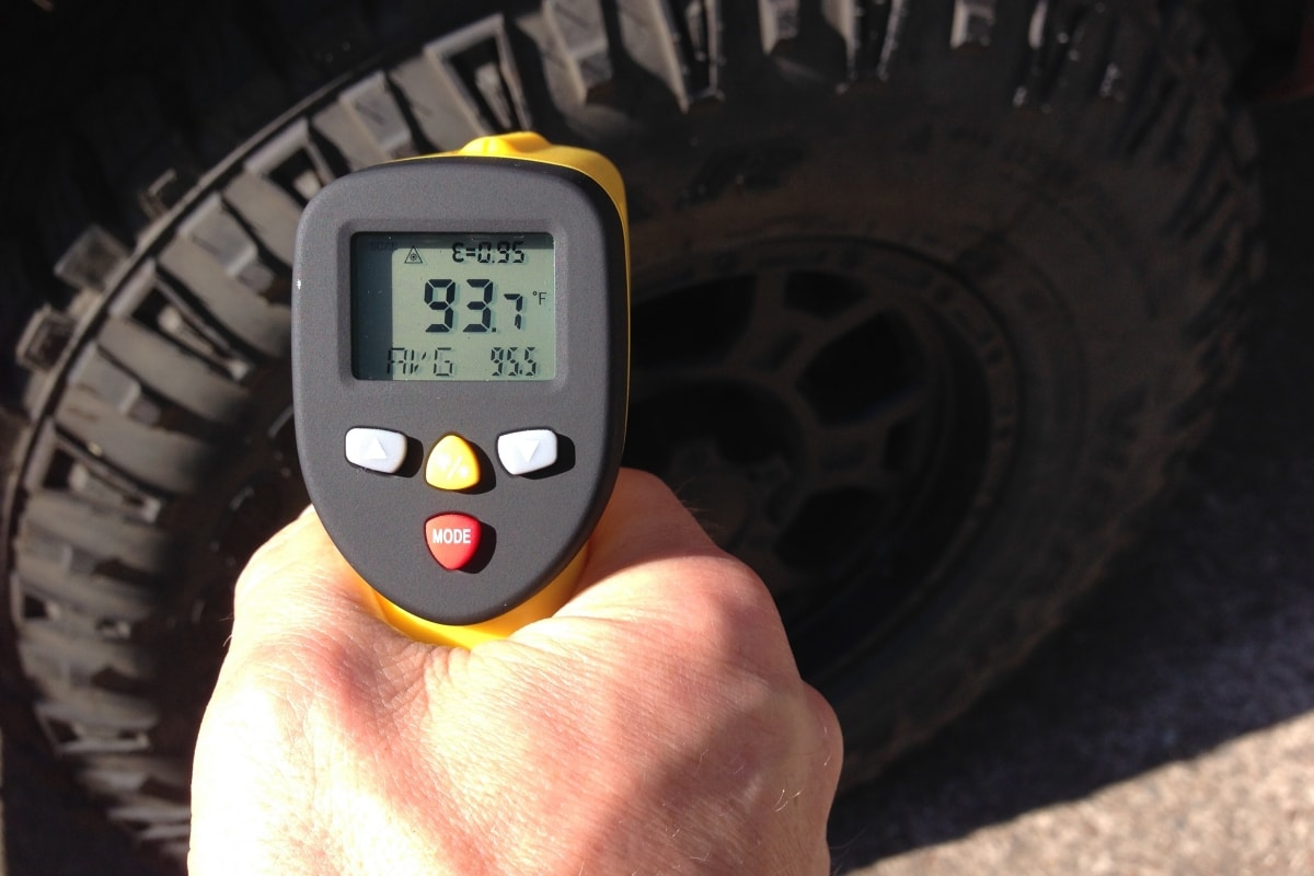 Using an Automotive Infrared Thermometer for Diagnostics - ennoLogic