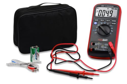 eM860T TRMS Digital Multimeter with case