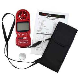 Anemometer ennoLogic eA980R package contents